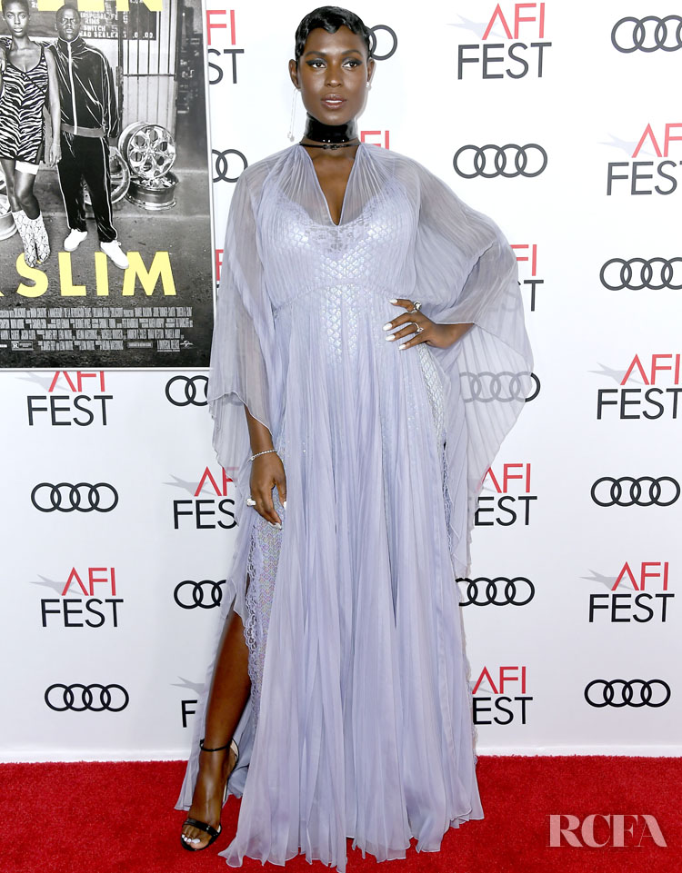 Jodie Turner-Smith & Joshua Jackson Are Gorgeous In Gucci For The 'Queen & Slim' Premiere