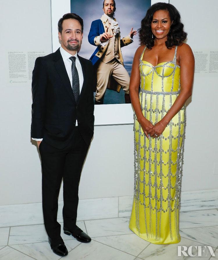 Michelle Obama Wore Custom Schiaparelli Haute Couture To The 2019 American Portrait Gala