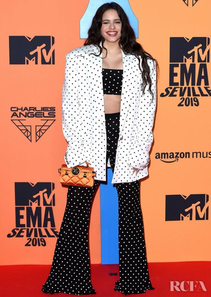 Rosalía In Balmain - MTV EMAs 2019