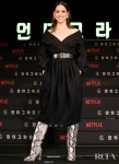 Adria Arjona Promotes '6 Underground' With Two Looks In Seoul