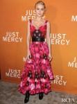 Brie Larson Wore Alexander McQueen To The 'Just Mercy' Celebration Conversation