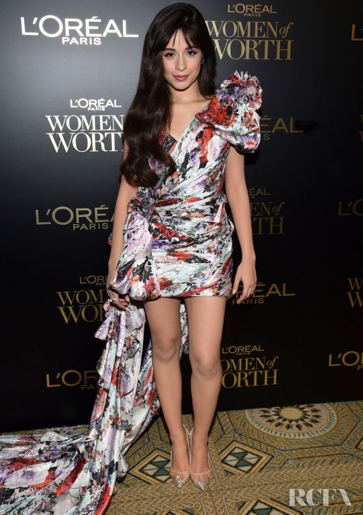 Camila Cabello Wore Ralph & Russo Couture To The L'Oréal Paris Women Of Worth Awards