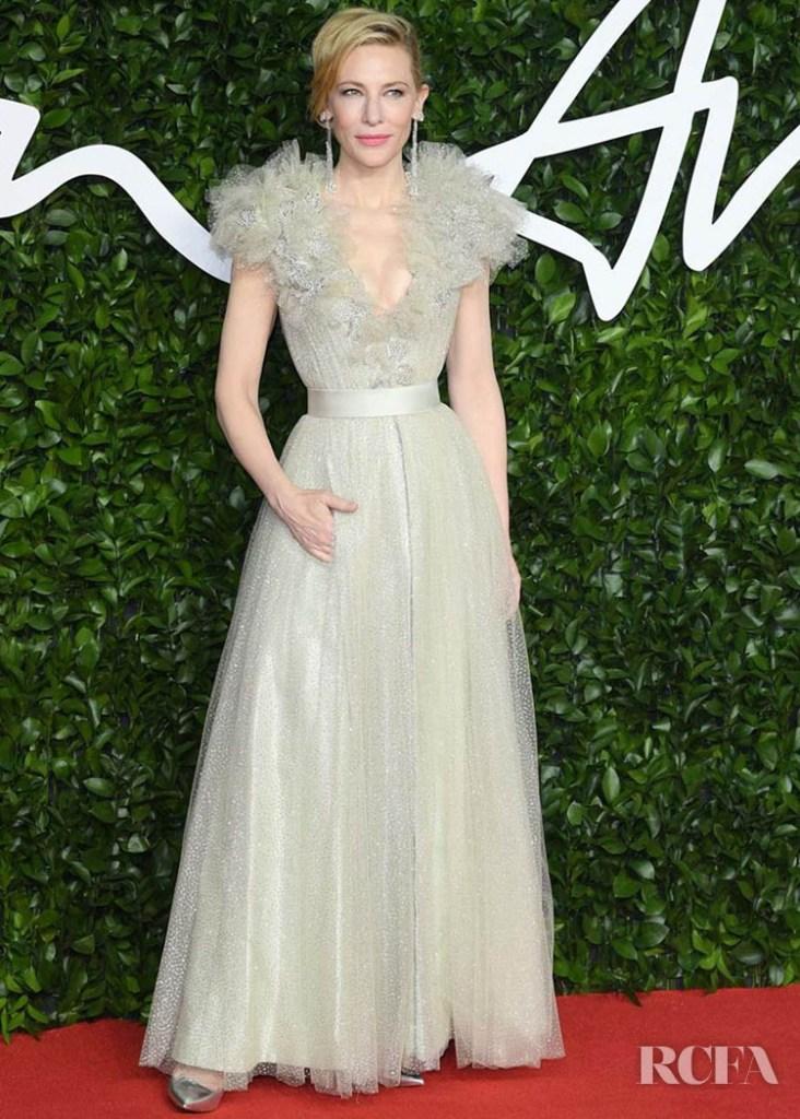 Cate Blanchett In Armani Prive - The Fashion Awards 2019