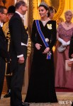 Catherine, Duchess of Cambridge Wore Alexander McQueen For The Diplomatic Reception
