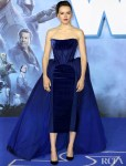Daisy Ridley Wore Vivienne Westwood Couture For The 'Star Wars: The Rise of Skywalker' London Premiere
