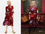 Laura Brown's La DoubleJ Maneater Rosso Visconti Dress