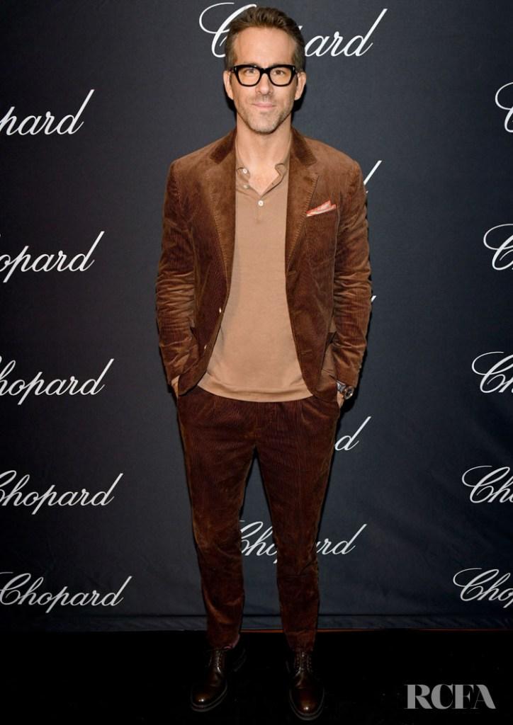Ryan Reynolds Wore Brunello Cucinelli To The Chopard Dinner Party