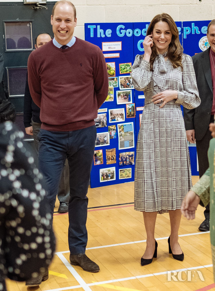 Catherine, Duchess of Cambridge Wore Alexander McQueen & Zara For Her Bradford Visit