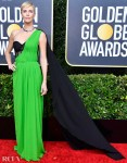 Charlize Theron In Christian Dior Haute Couture - 2020 Golden Globe Awards