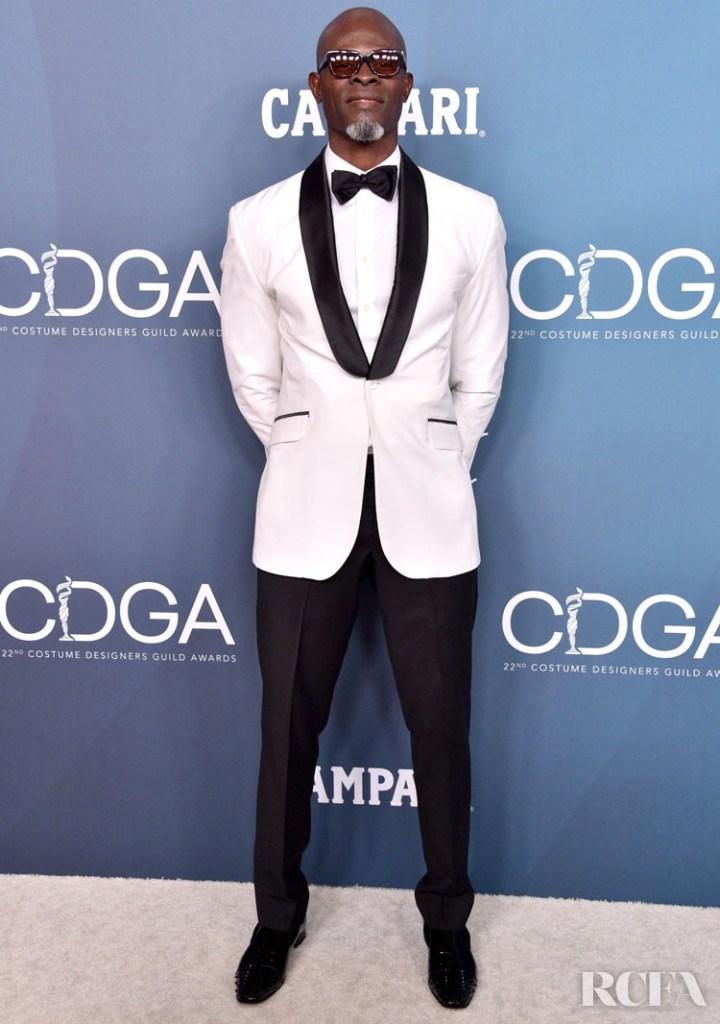 Djimon Hounsou 2020 Costume Designers Guild Awards
