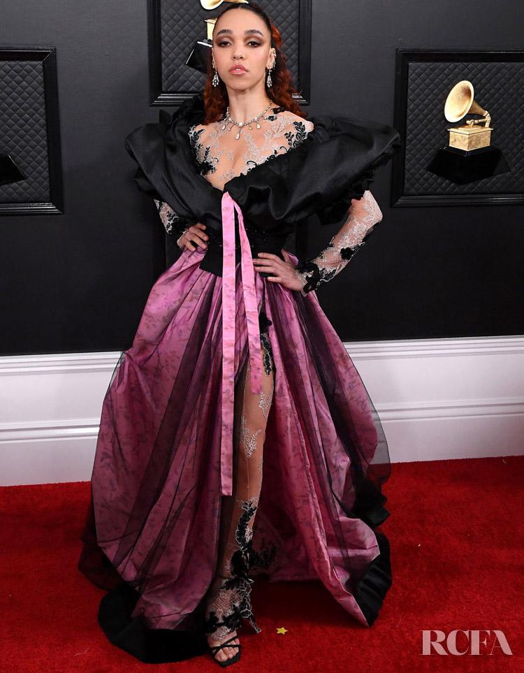 FKA twigs In Ed Marler - 2020 Grammy Awards