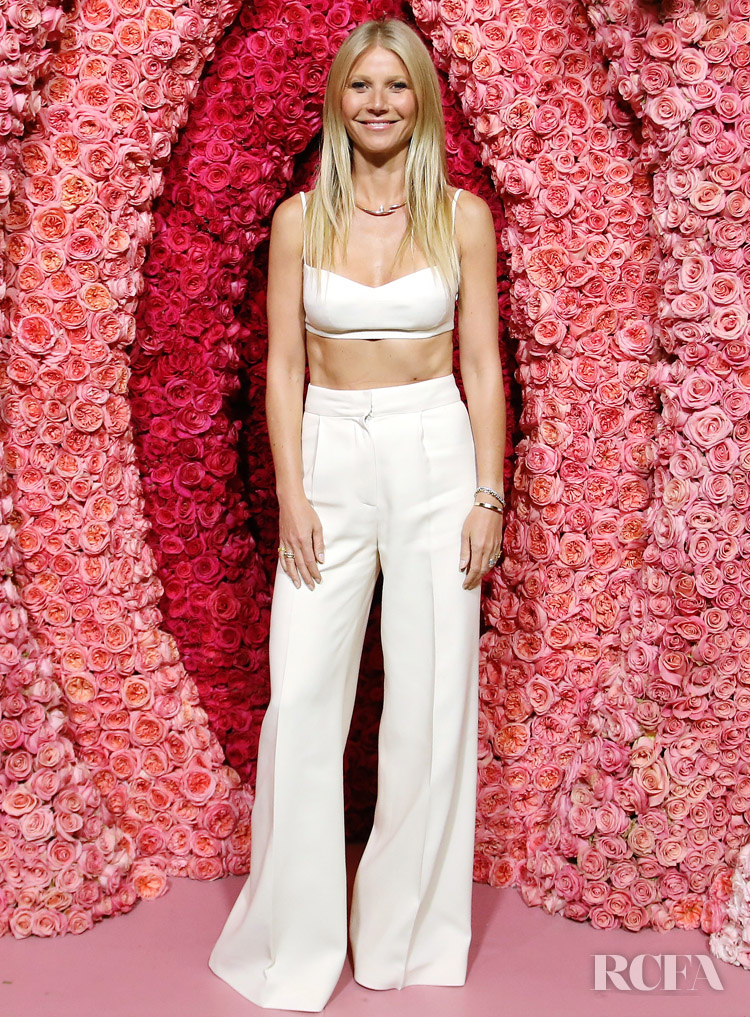 Gwyneth Paltrow Wore G. Label To The goop lab Special Screening