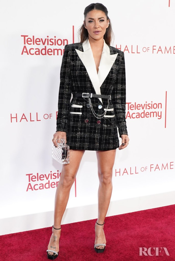 Jessica Szohr Wore Vatanika To The Television Academy's 25th Hall Of Fame Induction Ceremony