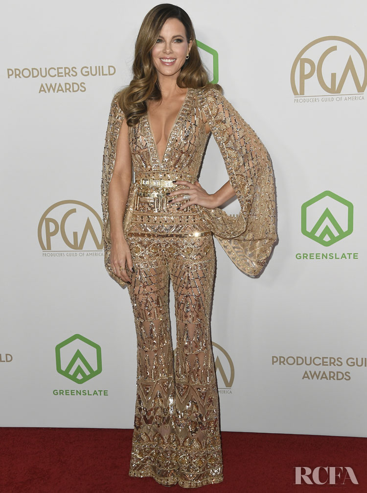 Kate Beckinsale Wore Zuhair Murad Couture To The 2020 Producers Guild Awards