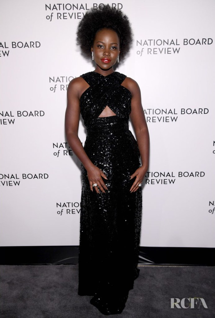 Lupita Nyong'o Wore Celine To The 2020 National Board Of Review Gala