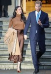 Meghan, Duchess of Sussex Wore Reiss & Massimo Dutti To Visit Canada House