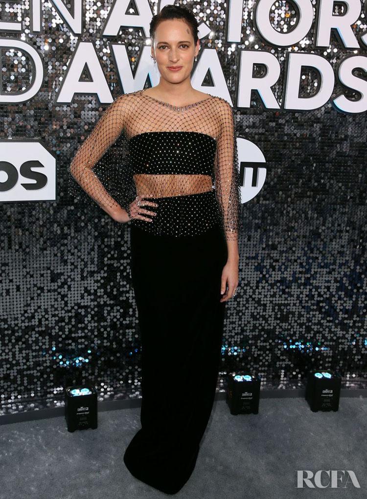 Phoebe Waller-Bridge In Armani Prive - 2020 SAG Awards