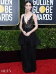 Rooney Mara In Givenchy Haute Couture - 2020 Golden Globe Awards