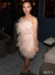 Scarlett Johansson Wore Monique Lhuillier To The Netflix 2020 Golden Globes After Party
