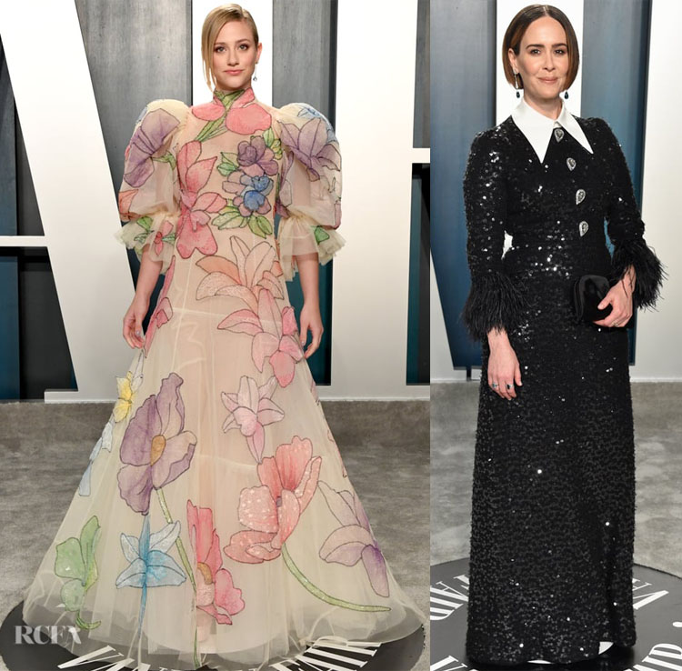 2020 Vanity Fair Oscar Party Red Carpet Roundup