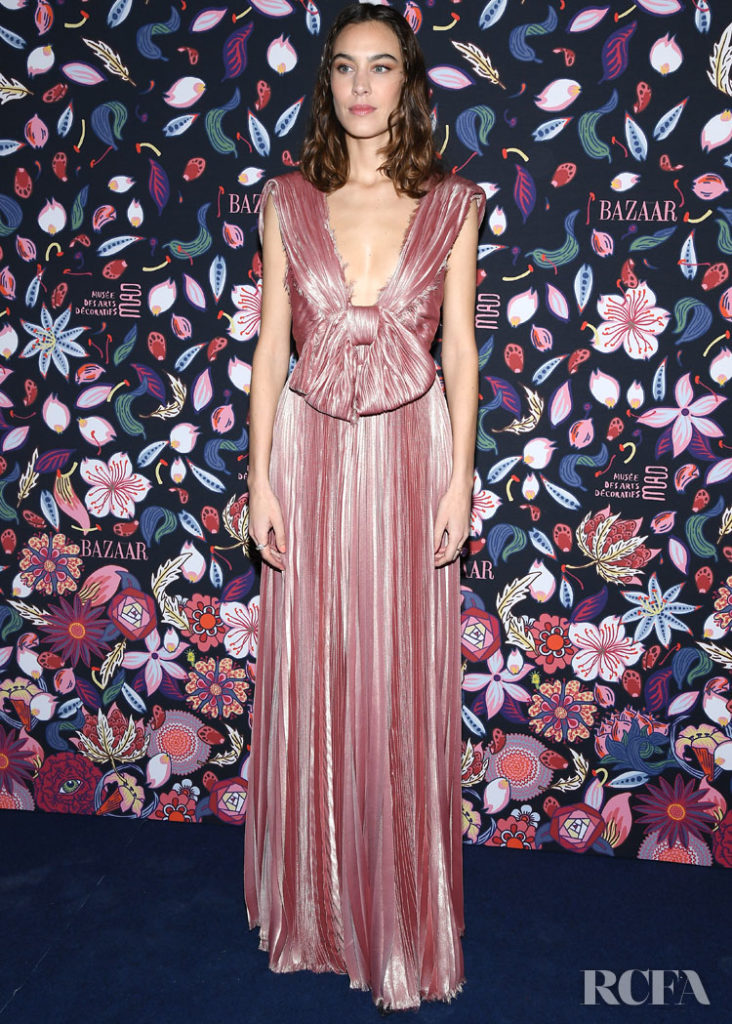 Alexa Chung Christian Dior @ The Harper's Bazaar Exhibition