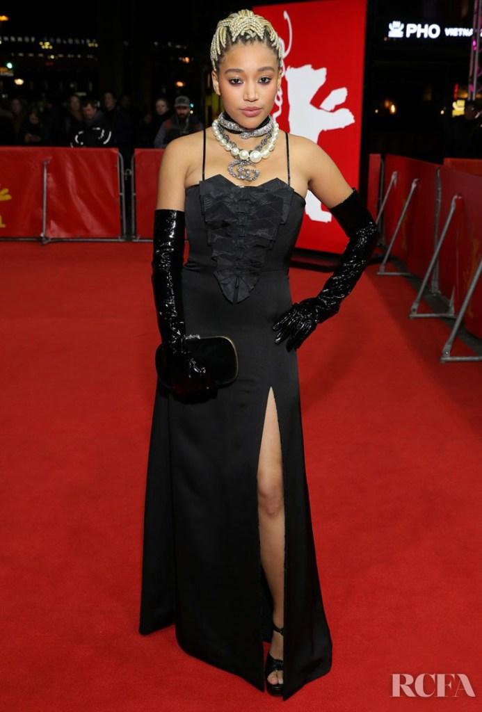 Amandla Stenberg Wore Gucci To 'The Eddy' Berlinale Film Festival Premiere