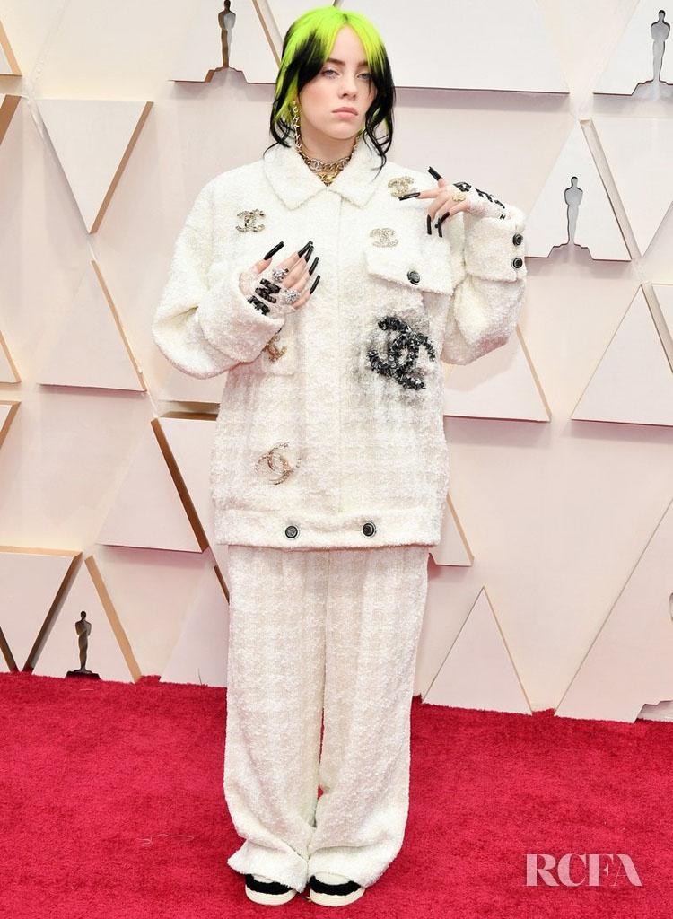 Billie Eilish In Chanel - 2020 Oscars