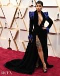 Blac Chyna In Dona Matoshi - 2020 Oscars