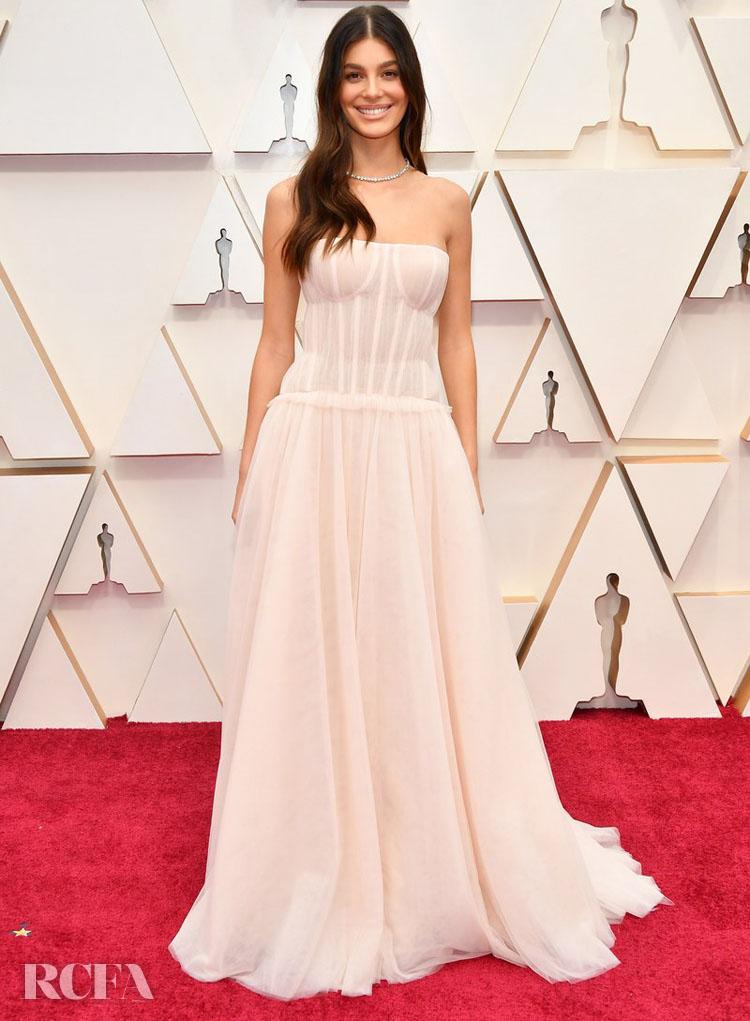 Camila Morrone In Carolina Herrera - 2020 Oscars