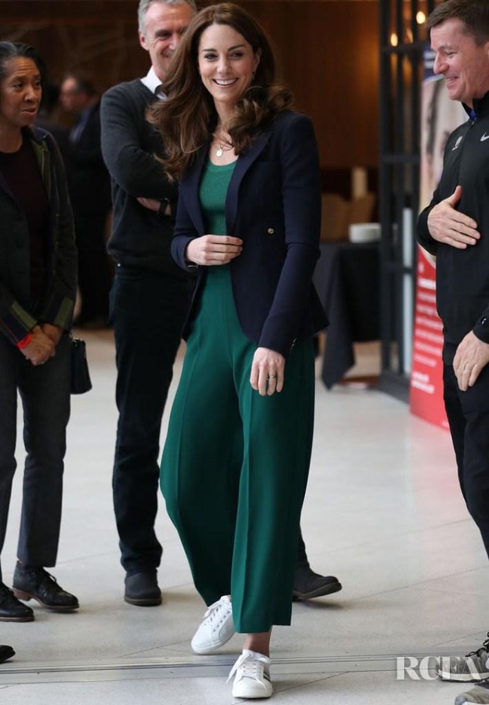 Catherine, Duchess of Cambridge Wore Mango & Zara For SportsAid