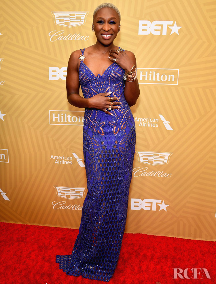Cynthia Erivo Wore Atelier Versace To The American Black Film Festival Honors Ceremony