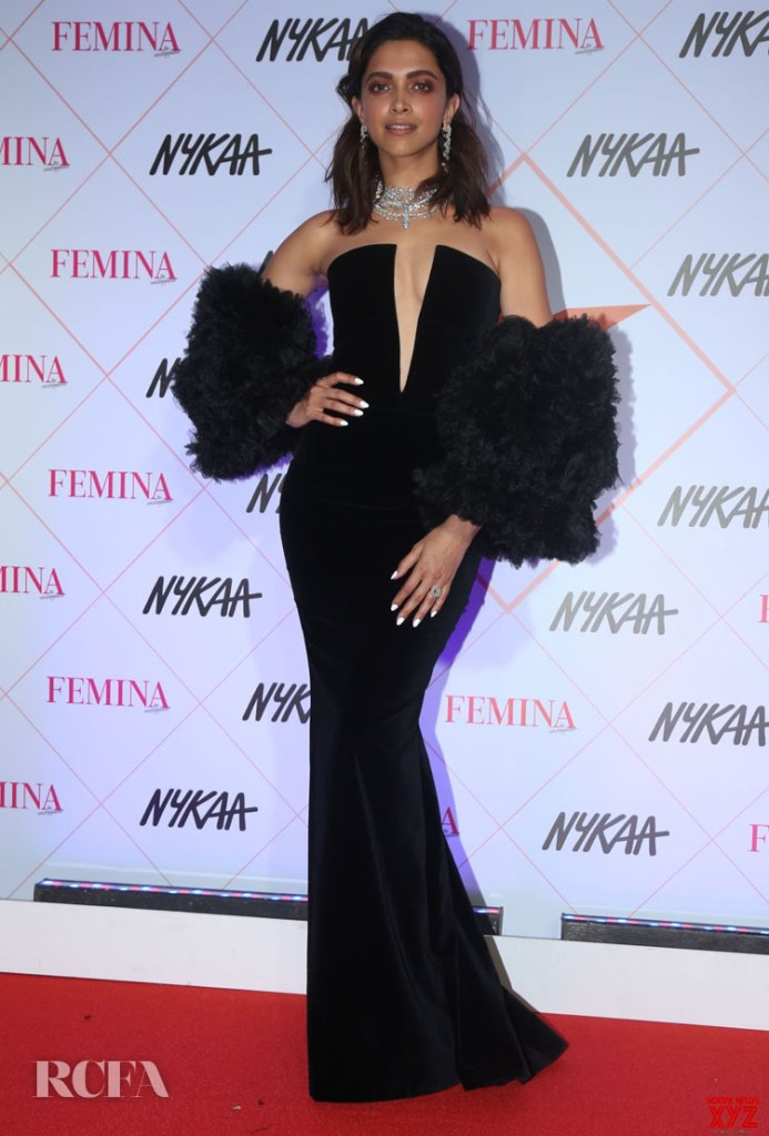 Deepika Padukone Wore Yanina Couture To The Nykaa Femina Beauty Awards