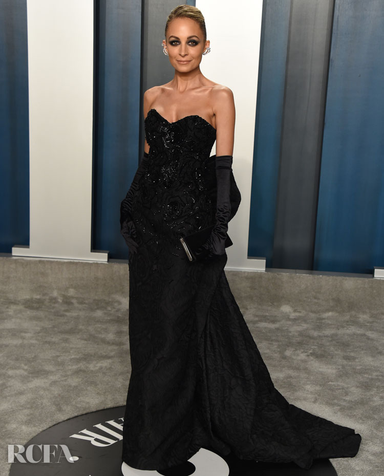 Nicole Richie in Etro @ The 2020 Vanity Fair Oscar Party