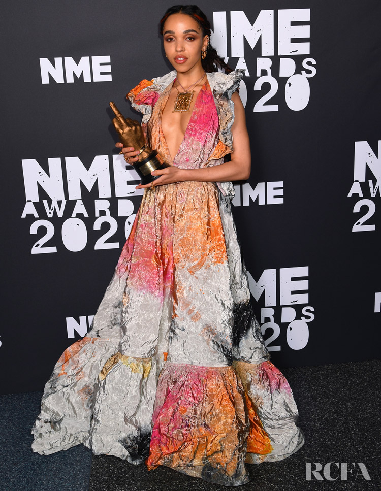 FKA twigs in Roksanda  NME Awards 2020