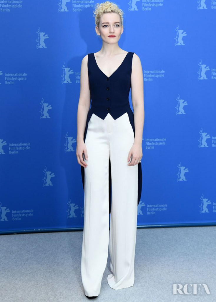 Julia Garner Wore Ralph Lauren Collection To 'The Assistant' Berlinale Film Festival Photocall