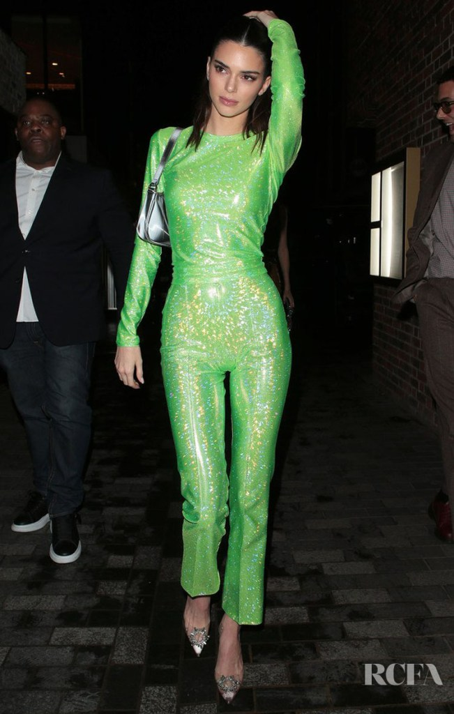 Kendall Jenner Wore Saks Potts To The BRIT Awards 2020 After-Party