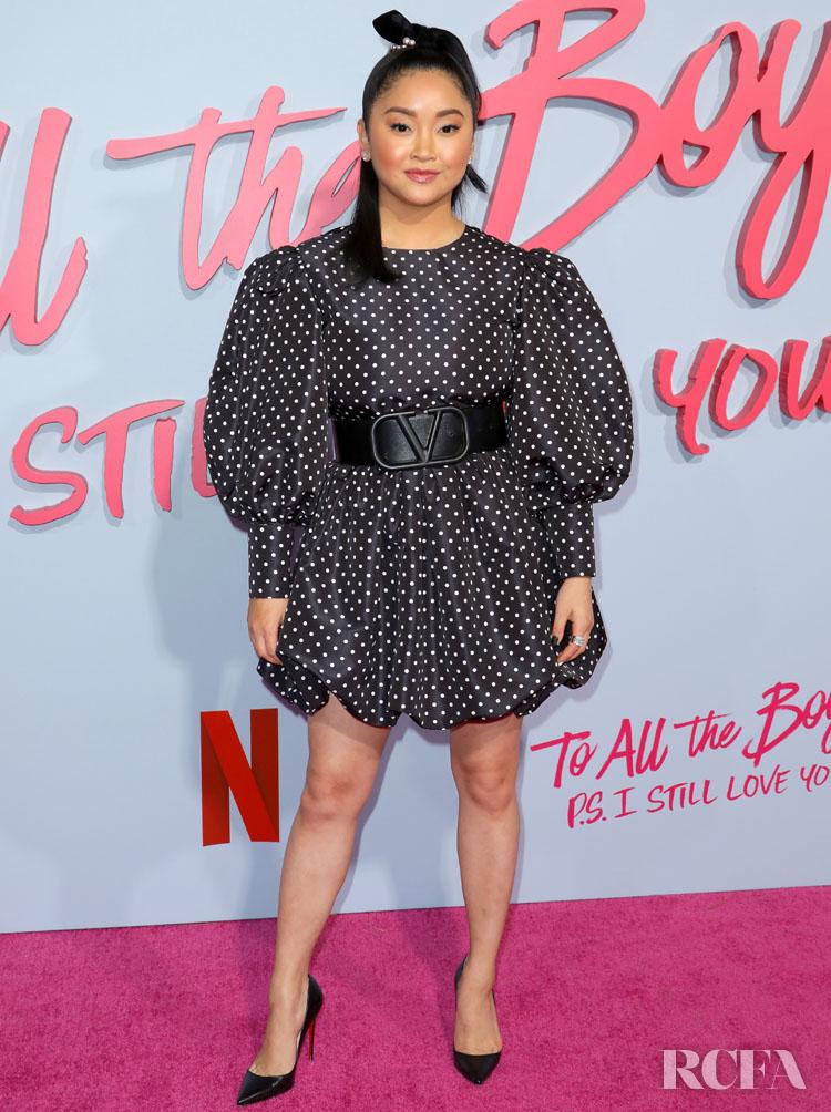 Lana Condor Wore Valentino 'To All The Boys: P.S. I Still Love You' LA Premiere