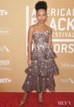 Logan Browning Wore Ralph & Russo Couture To The American Black Film Festival Honors Ceremony
