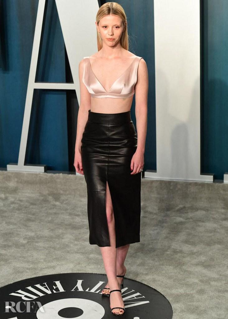 Mia Goth in Givenchy 2020 vanity fair party.jpg