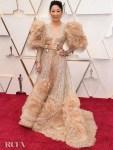 Sandra Oh In Elie Saab Haute Couture - 2020 Oscars