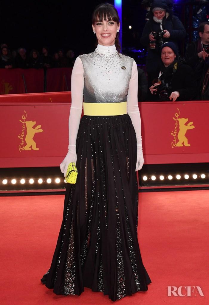 Berenice Bejo Wore Valentino Haute Couture To The Berlinale Film Festival Closing Ceremony