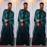Billy Porter Is Self Isolating In Elie Saab