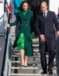 Catherine, Duchess of Cambridge Wore Catherine Walker & Alessandra Rich For Ireland Visit