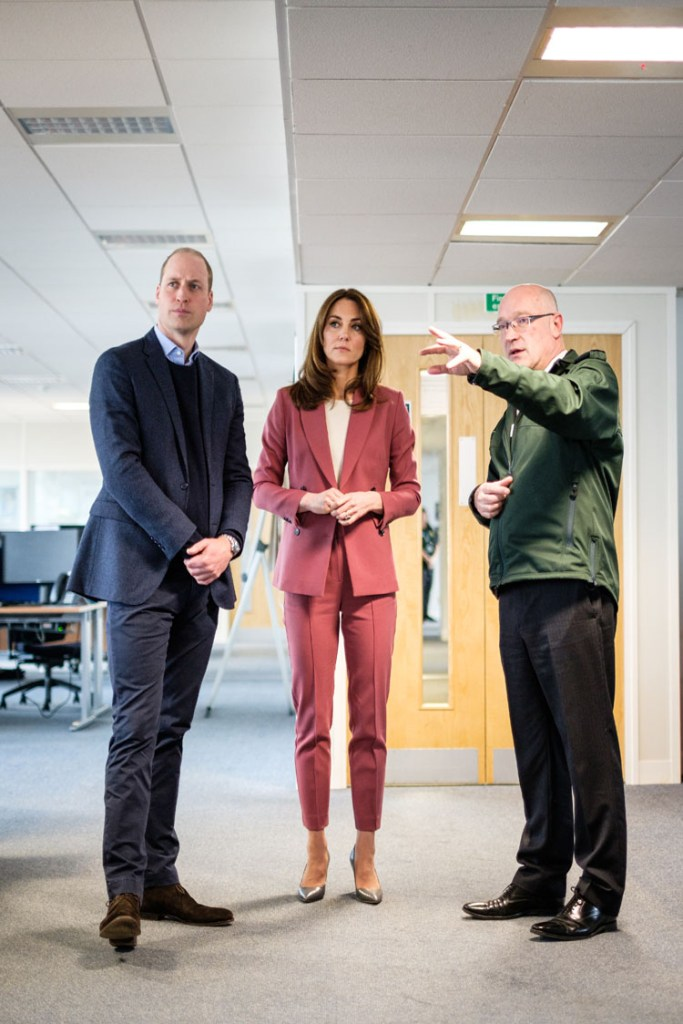 Catherine, Duchess of Cambridge Wore Marks & Spencer For Her London Ambulance Service 111 Control Room Visit