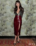 Dakota Johnson Wore Gucci To The Opening Of Gucci Osteria