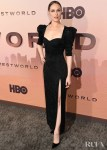 Evan Rachel Wood Wore Versace & Dorothee Schumacher To The 'Westworld' Season 3 LA Premiere & Press Day