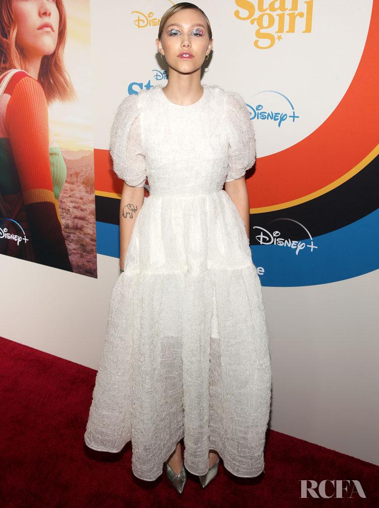 Grace VanderWaal Wore Cecilie Bahnsen To The 'Stargirl' LA Premiere