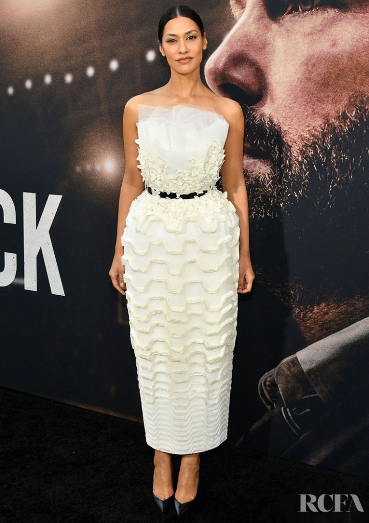 Janina Gavankar Wore Azzi & Osta To 'The Way Back' LA Premiere