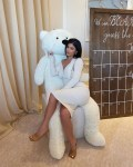Kylie Jenner Wore Bottega Veneta To Malika's Baby Shower
