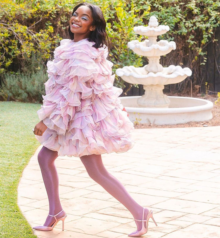 Marsai Martin Wore Marc Jacobs To The Sisters' Awards Brunch